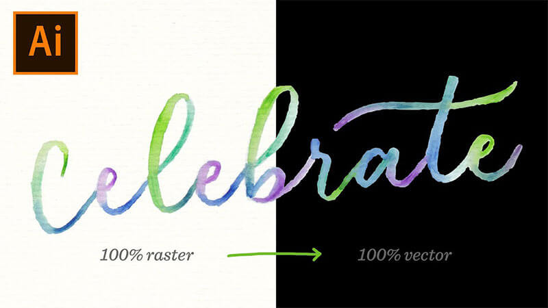 how-to-vectorize-watercolor-lettering