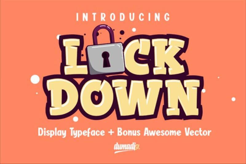 lockdown-display-font