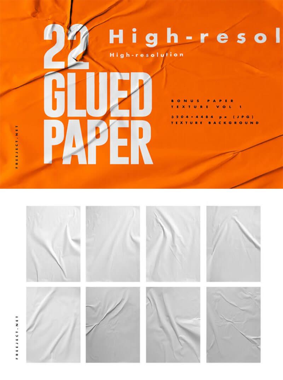 glued-paper-texture