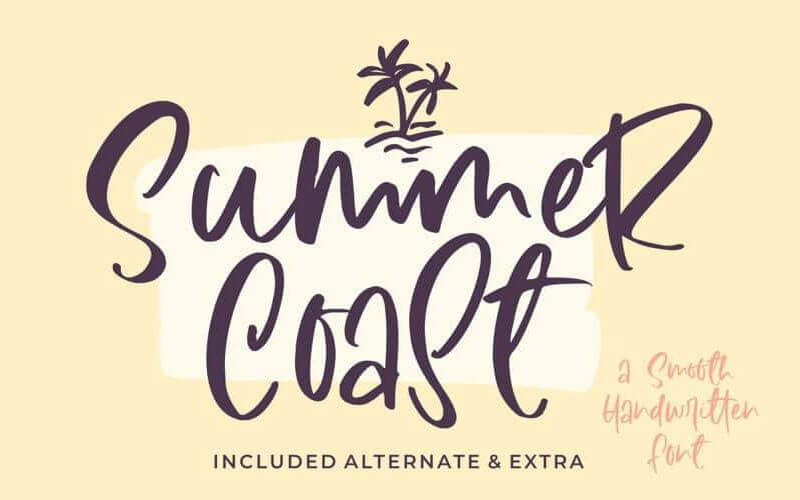 summer-coast-handwritten-font