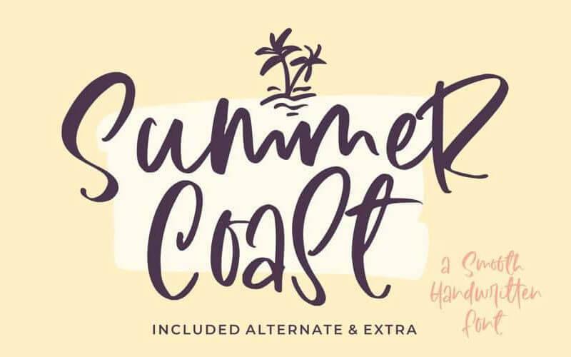 summer-coast-handwritten-font