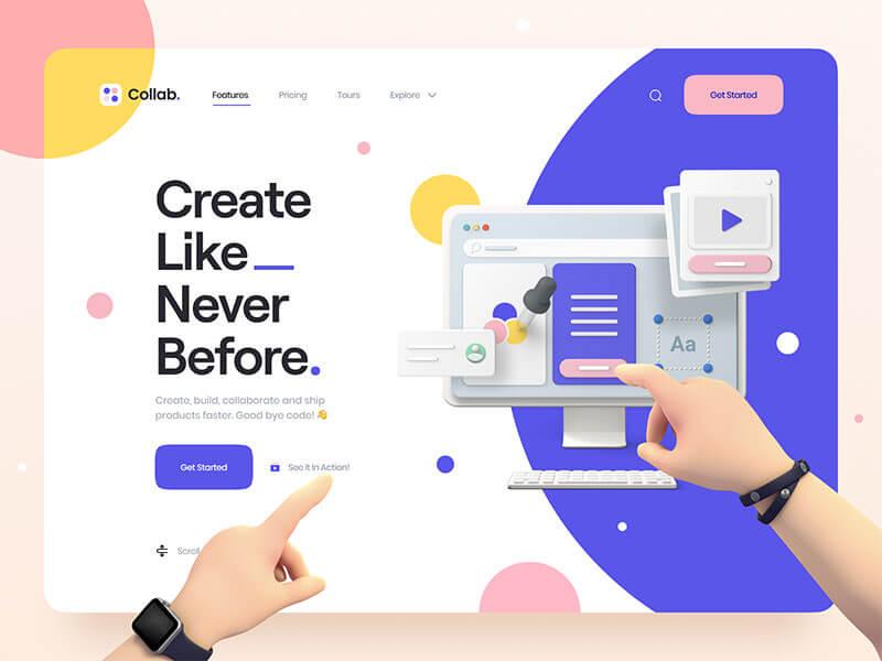 3d-hero-illustration-design-trends