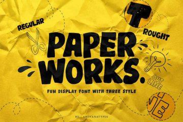 paper-works-font-4