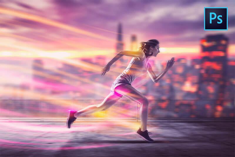 running-energy-photo-manipulation