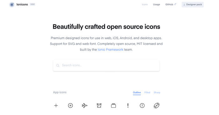 ionicons-open-source-preview