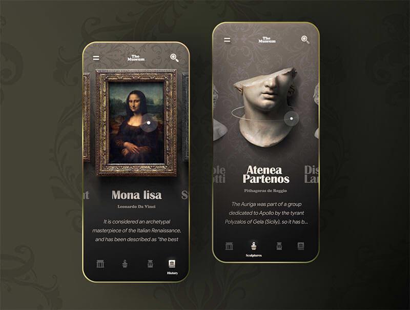 baroque---Virtual-museum-app-concept