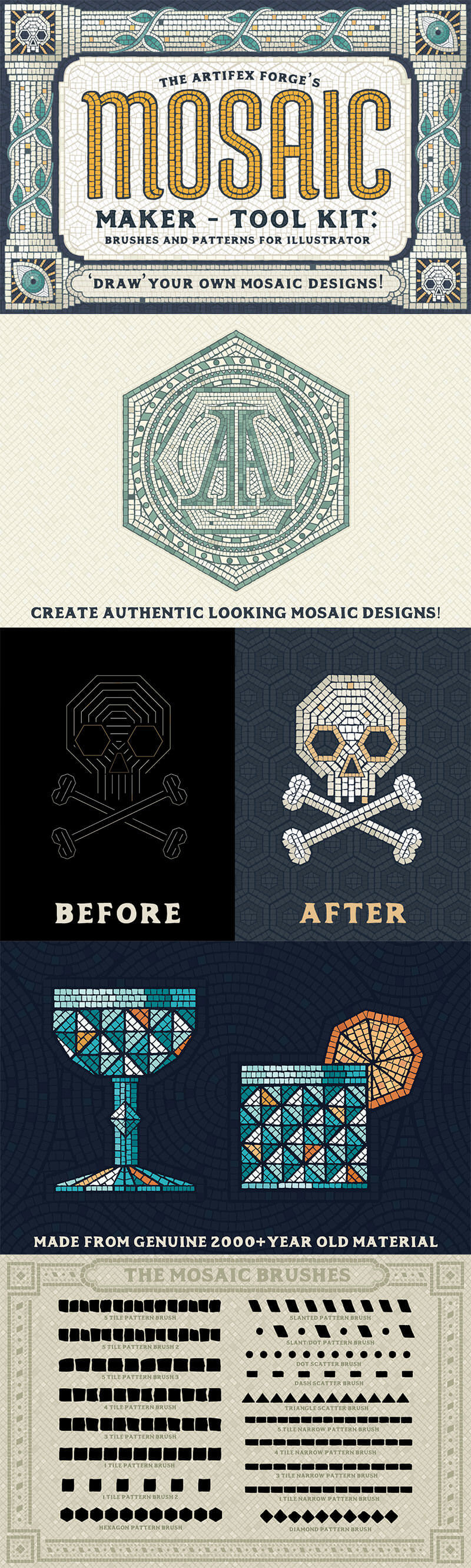 Mosaic-Maker-Brushes-And-Patterns-cover