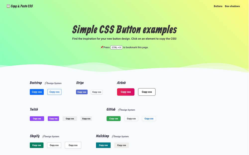 css- button