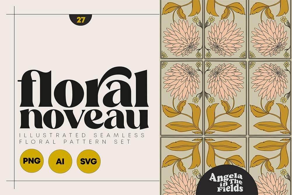 Noveau-Floral-1