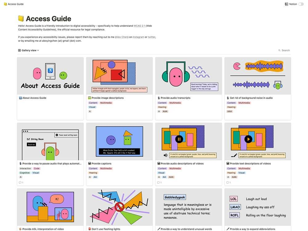 Access Guideの画像